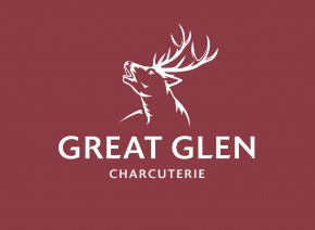 Great Glen Logo P697 White