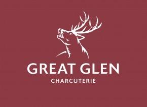 Great Glen Logo P697 White